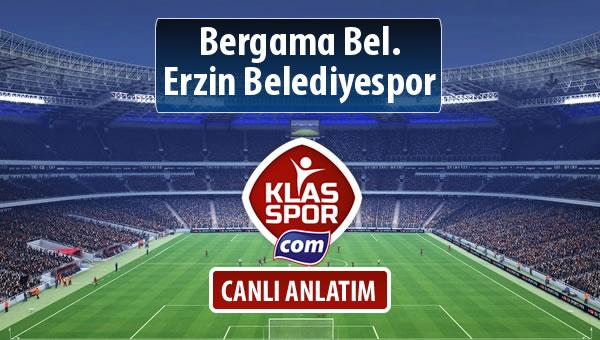 Bergama Bel. - Erzin Belediyespor maç kadroları belli oldu...
