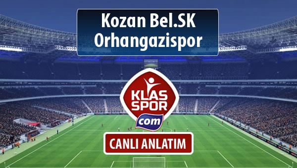 İşte Kozan Bel.SK - Orhangazispor maçında ilk 11'ler