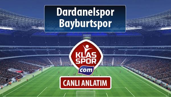 Dardanelspor - Bayburtspor sahaya hangi kadro ile çıkıyor?