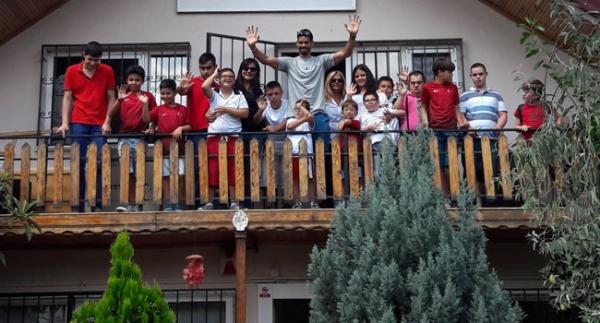 Milli atlet Escobar'dan anlamlı ziyaret