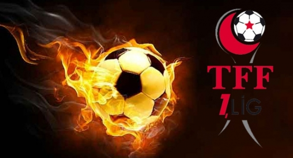 TFF 1.Lig'de 2. hafta programı açıklandı