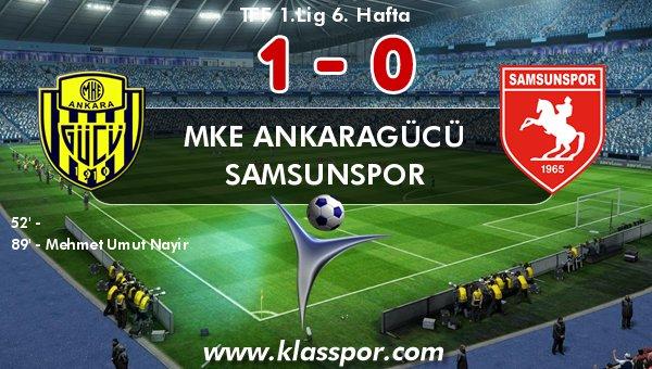 Ankaragücü'nde Umut'tan altın gol