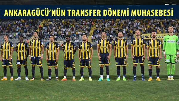 Ankaragücü'nün yaz transfer dönemi muhasebesi