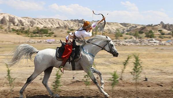 Atlı okçular finali Ankara'da yapacak