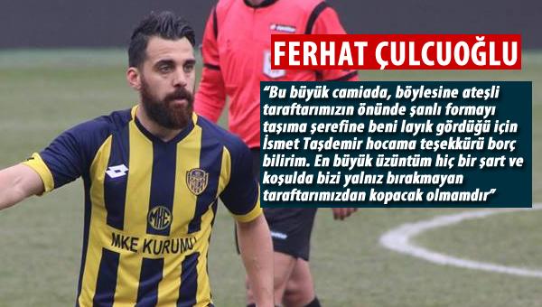 Ferhat Çulcuoğlu'ndan veda mesajı