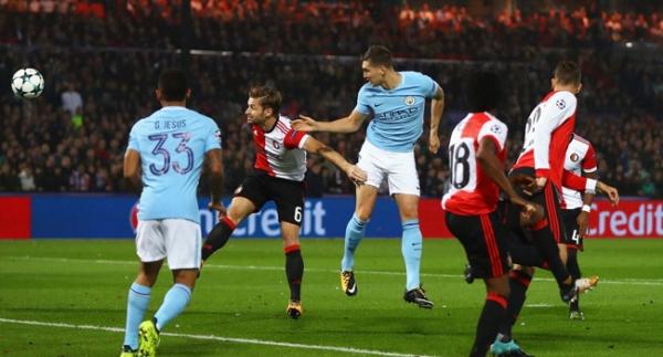 Feyenoord, City'e direnemedi