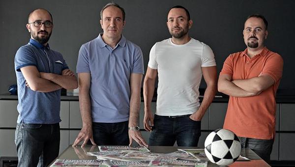 """'Futbol Masası' ekibi: """"Hırs ve azmin başarısı"""""""