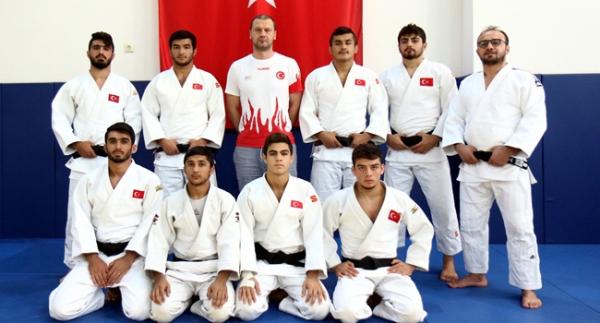 Genç judocular Avrupa sınavında