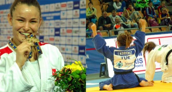 İrem Korkmaz, Avrupa şampiyonu