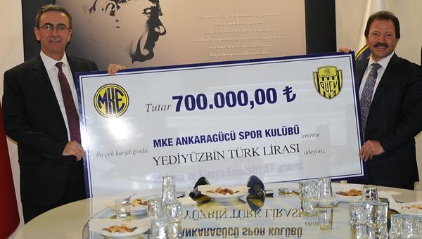 MKE'den flaş Ankaragücü açıklaması!