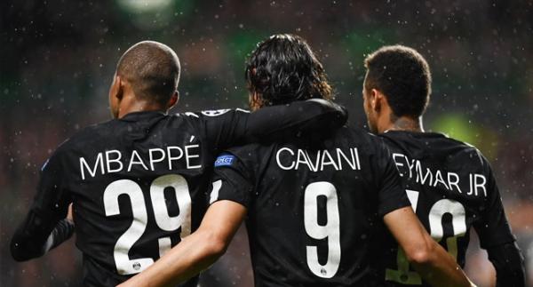 PSG, Celtic'i gole boğdu