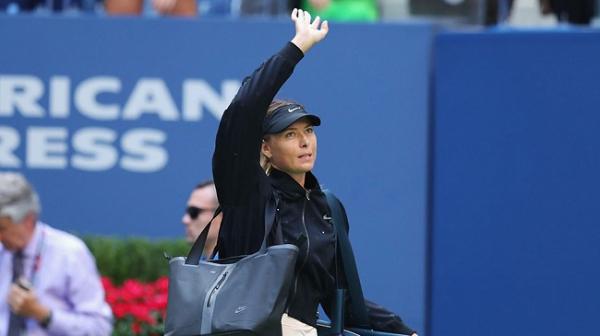 Sharapova ABD Açık'a veda etti!