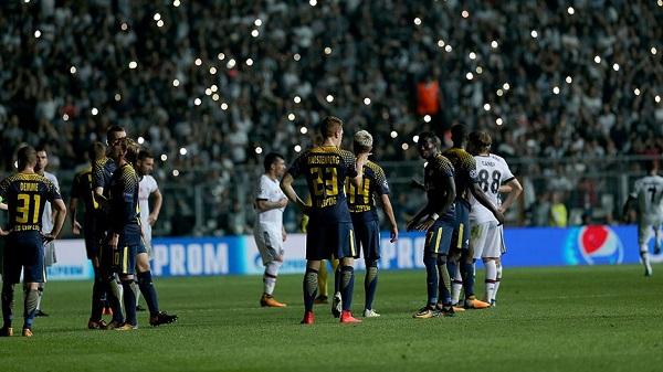 UEFA'dan Beşiktaş'a disiplin soruşturması!