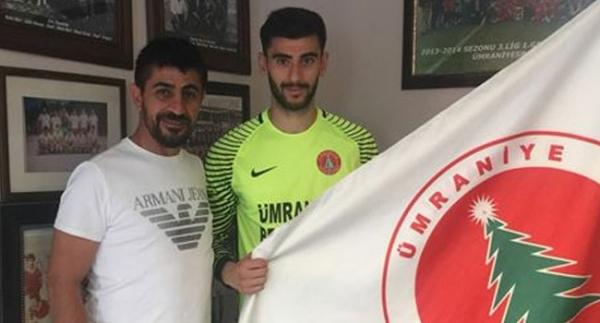 Ümraniye'ye Beşiktaşlı kaleci!
