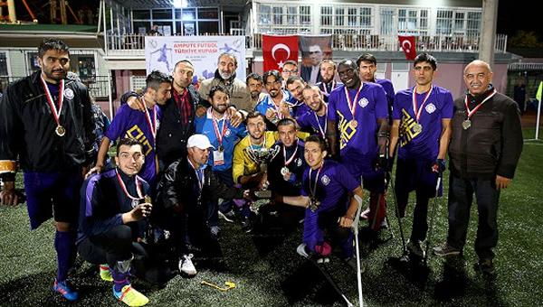 Ampute futbolda Türkiye Kupası Osmanlıspor'un