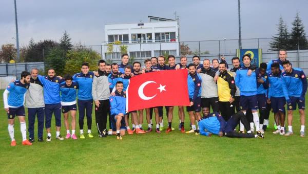 """Ankaragücü'nde """"Cumhuriyet Bayramı"""" sevinci"""