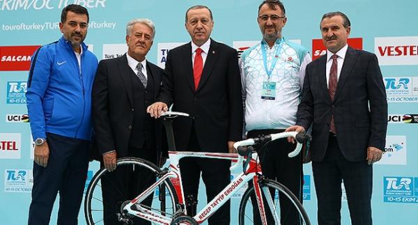 """""""Bisiklet sporuna verdiğimiz desteği devam ettireceğiz"""""""
