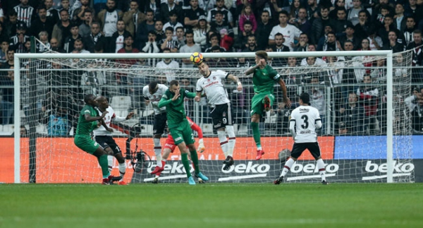 Beşiktaş-Akhisarspor maçından notlar