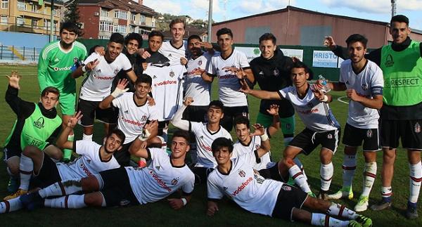 Beşiktaş'ın gençleri Monaco'yu devirdi