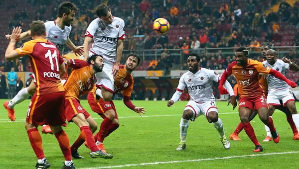 Galatasaray ile Gençlerbirliği 93. randevuda