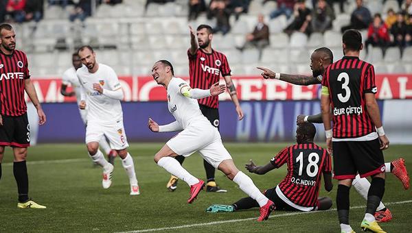 Gençlerbirliği - Kayserispor maçının ardından gergin anlar yaşandı
