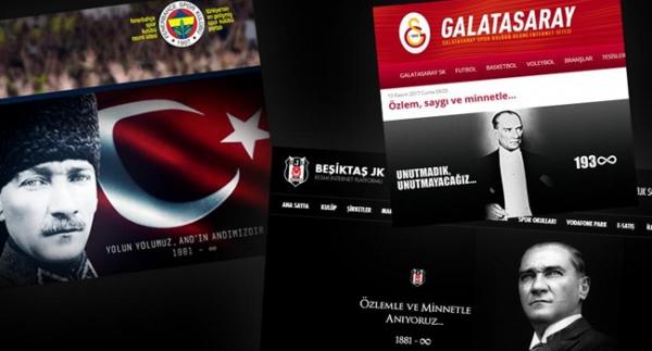 Spor camiası Büyük Önder Atatürk'ü andı