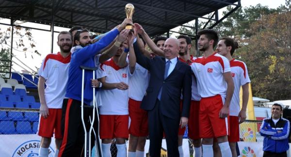 Türkiye Mini Dünya Kupası'nda şampiyon