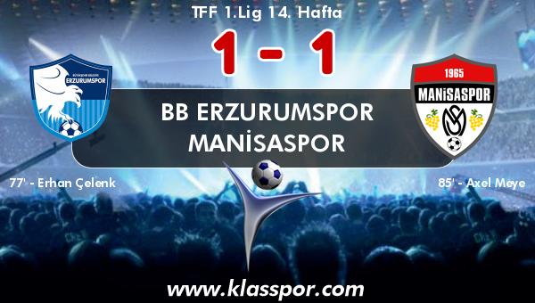 BB Erzurumspor 1 - Manisaspor 1