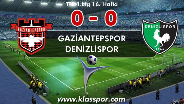 Gaziantepspor 0 - Denizlispor 0