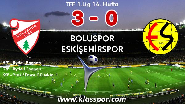 Boluspor 3 - Eskişehirspor 0