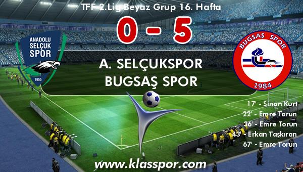 A. Selçukspor 0 - Bugsaş Spor 5