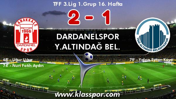 Dardanelspor 2 - Y.Altındağ Bel. 1