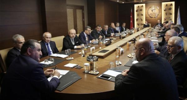Bakan Bak, TFF 1. Lig başkanlarını kabul etti