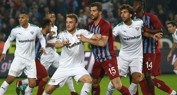 Bursaspor'un ilk 7'ye karşı galibiyeti yok!