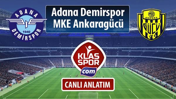 İşte Adana Demirspor - MKE Ankaragücü maçında ilk 11'ler