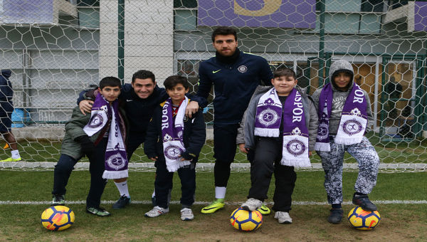 Osmanlıspor'a özel eğitimli ziyaretçi