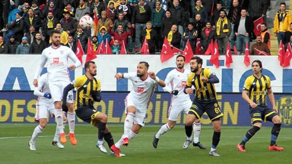 Ankaragücü- Altınordu maç sonucu: 0-2
