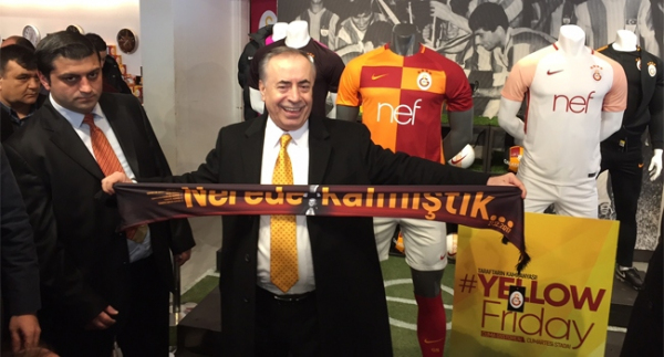 Galatasaray'da tarihi gün!