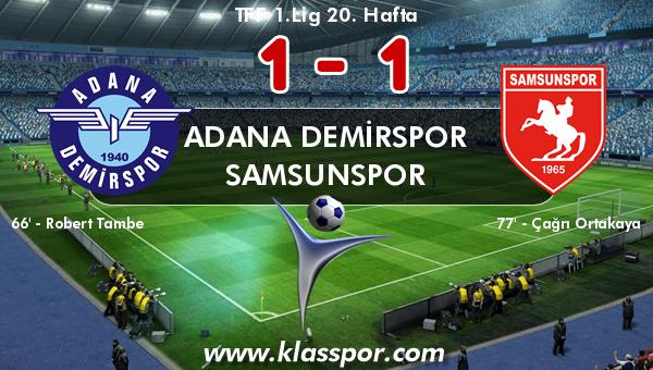 Adana Demirspor 1 - Samsunspor 1