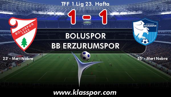 Boluspor 1 - BB Erzurumspor 1