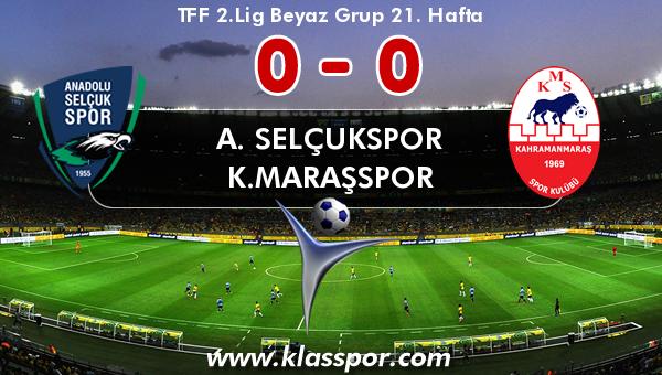A. Selçukspor 0 - K.Maraşspor 0