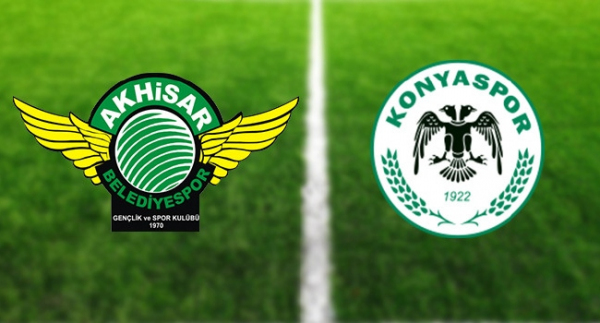 Akhisarspor'un konuğu Konyaspor