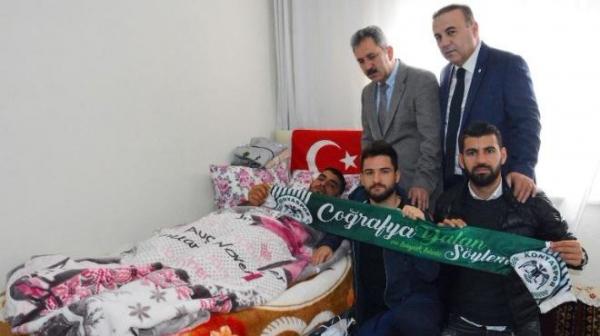 Atiker Konyaspor'dan anlamlı ziyaret!