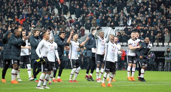 Beşiktaş zirve iddiasını sürdürdü