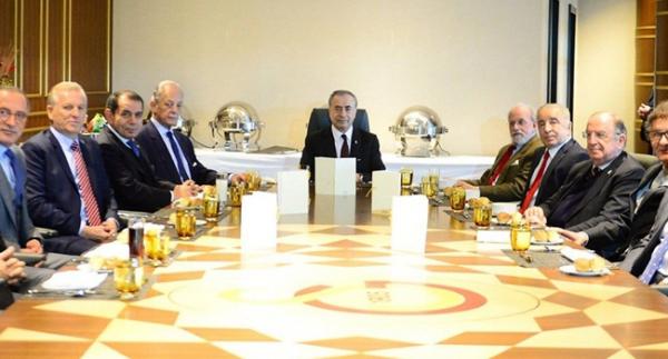 Galatasaray'da başkanlar buluştu