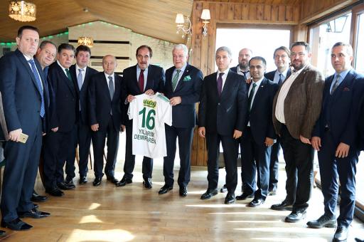 TFF'den Bursaspor'a ziyaret