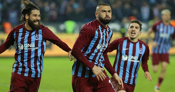 Trabzonspor, Burak Yılmaz ile kazanıyor