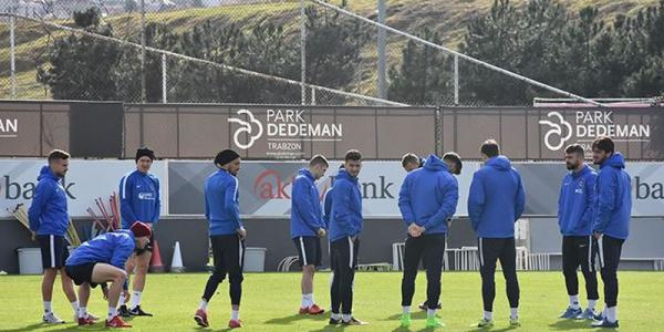 Trabzonspor, Gençlerbirliği maçı hazırlıklarına başladı