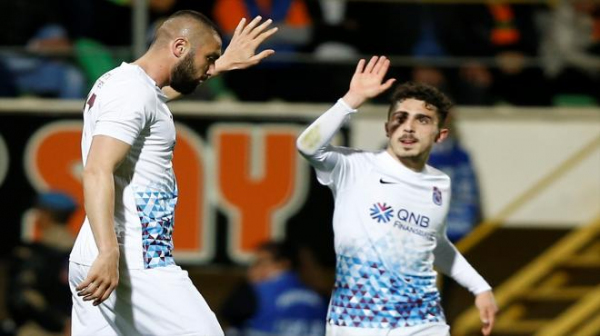 Trabzonspor'un galibiyet hasreti son buldu