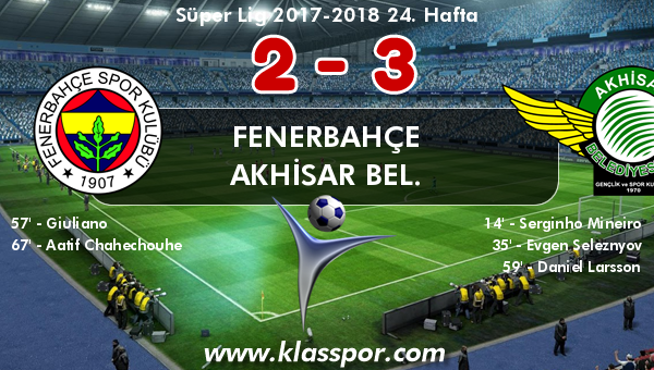 Fenerbahçe 2 - Akhisar Bel. 3